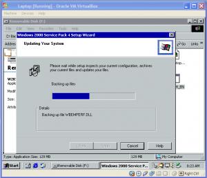 Laptop Running in VM