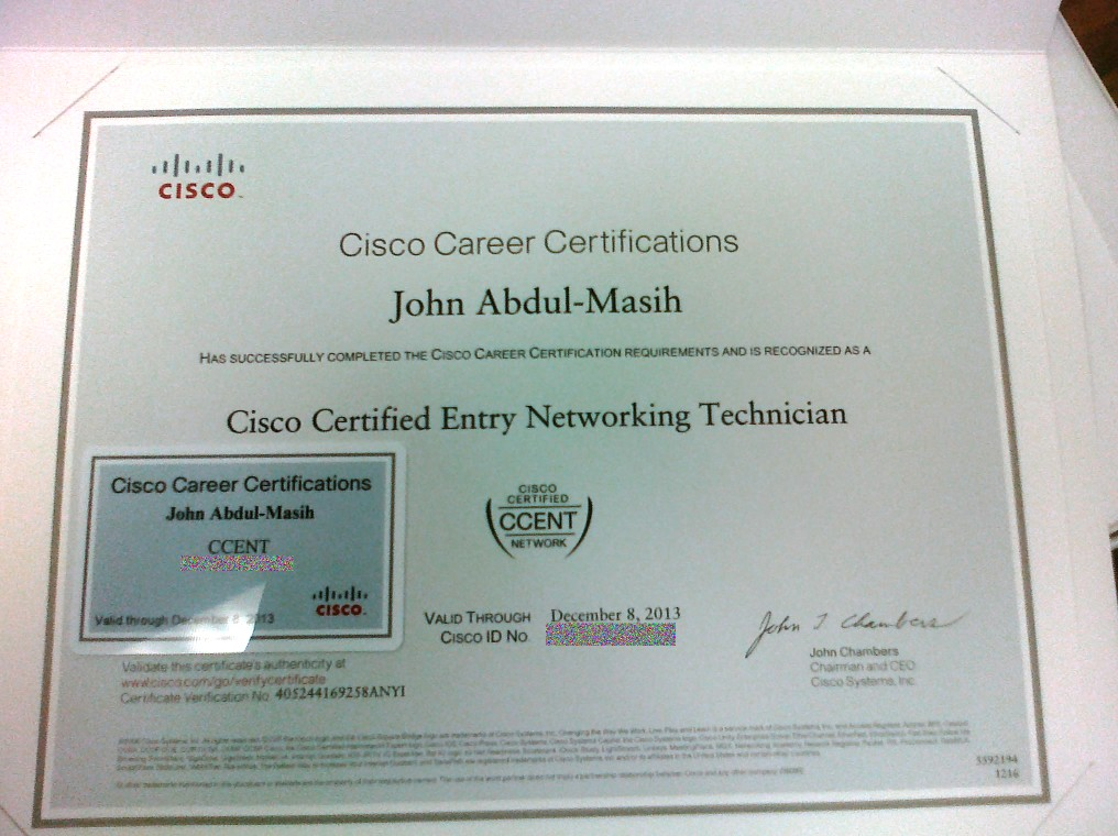 Where To Give Official Cisco Ccentccna Exam In Kuwait General