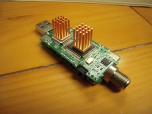 Heatsinks on TV Bare Tuner