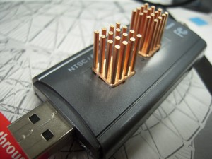 Finished mod, with both heat sinks.